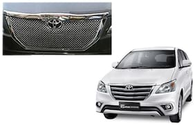 Auto Pearl - Premium Quality Car Chrome Front Grill For - Toyota  Innova New Model