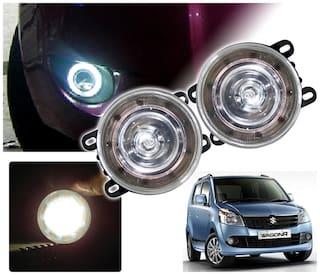 Auto Pearl Premium Quality Car High Power 9 Drl Led Ddel Fog Light For Maruti Suzuki Wagonr 2010