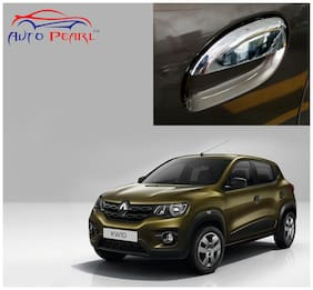 Auto Pearl Premium Quality Chrome Door Handle Cover For Renault Kwid