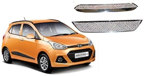 Auto Pearl - Premium Quality Car Chrome Front Grill For - Hyundai I10Grand