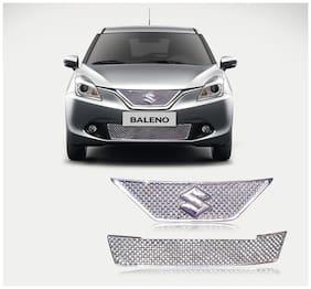 Auto Pearl - Premium Quality Car Chrome Front Grill For Maruti Suzuki Baleno