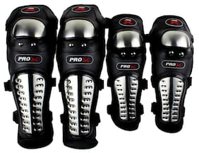 Auto Pearl -Pro-Biker Knee Pads Motorcycle Knee Motion Warm Professional Pads