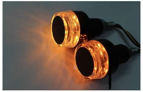 Auto Ryde Motorcycle Handlebar Dual Color Turn Signal LED Indicator Light For Activa