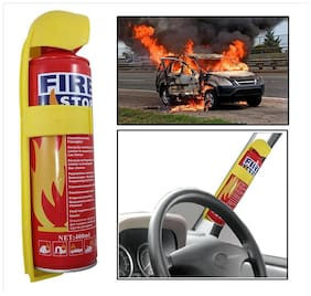 Auto Shop Fire Extinguisher Fire Stop Spray For Car / Bike / Home / Office etc.