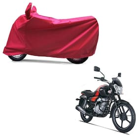 Autoage Full red Two Wheeler Cover For v150