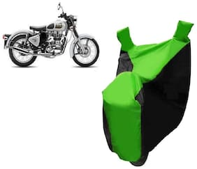 AutoAge Two Wheeler Green Colour Cover for Royal Enfield Bullet 350