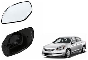 Autofetch Car Rear View Side Mirror Glass RIGHT for Honda Accord 2.4 Type 3 (2009-2011) Black