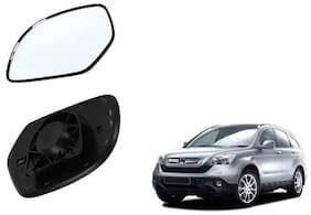 Autofetch Car Rear View Side Mirror Glass RIGHT for Honda Crv Type 2 Black