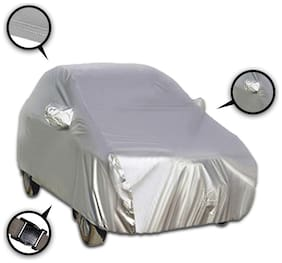Autofurnish Parx Silver Car Body Cover For Hyundai Verna - Parx Silver