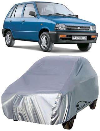 Autofurnish Car Body Cover For Maruti 800 - Silver