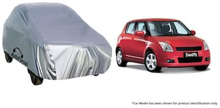 Autofurnish Car Body Cover For Maruti Swift - Silver