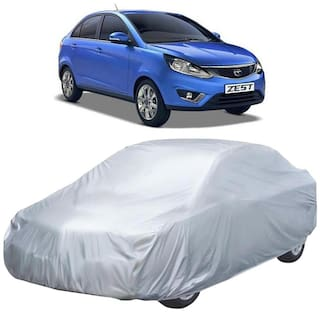 Autofurnish Car Body Cover For Tata Zest - Silver
