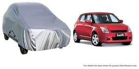 Autofurnish Car Body Cover For Maruti Swift - Silver