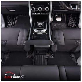 Autofurnish 7D Carbon Fiber Style Custom Fitted Car Mats For Tata
