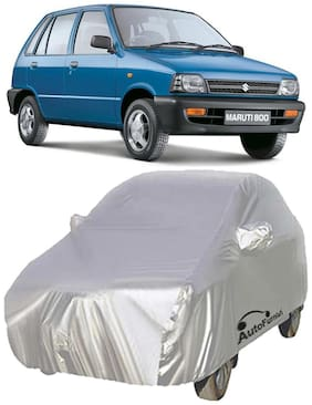 Autofurnish Car Body Cover For Maruti Maruti 800 - Premium Silver