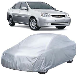Autofurnish Silver Car Body Cover For Chevrolet Optra - Silver