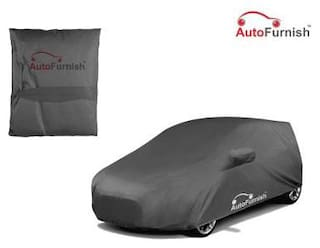 Autofurnish Premium Grey Car Body Cover For Mahindra Nuvosport - Grey
