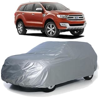 Autofurnish Car Body Cover For Ford Endeavour - Silver