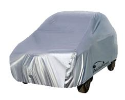 Autofurnish Silver Car Body Cover For Honda City 2017 - Silver