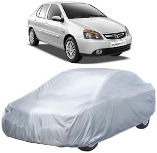 Autofurnish Silver Car Body Cover For Tata Indigo eCS - Silver