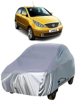 Autofurnish Car Body Cover For Tata Indica Vista - Silver