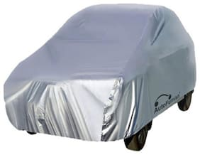 Autofurnish Silver Car Body Cover For Hyundai i10 - Silver