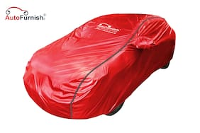 Autofurnish Acho Car Body Cover For Ford Figo Aspire - Acho Red