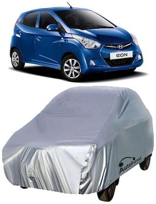 Autofurnish Car Body Cover For Hyundai Eon - Silver