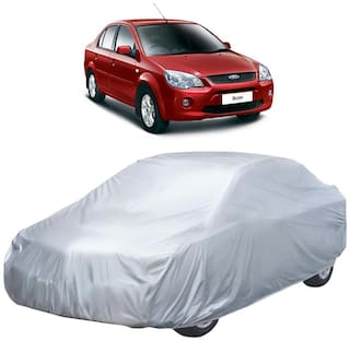 Autofurnish Car Body Cover For Ford ikon - Silver