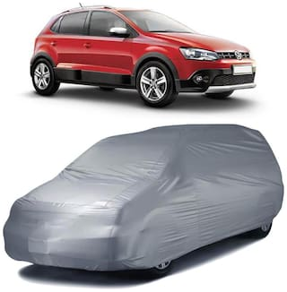 Autofurnish Car Body Cover For Volkswagen Polo Cross - Silver