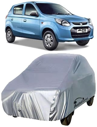Autofurnish Car Body Cover For Maruti New Alto 800 - Silver