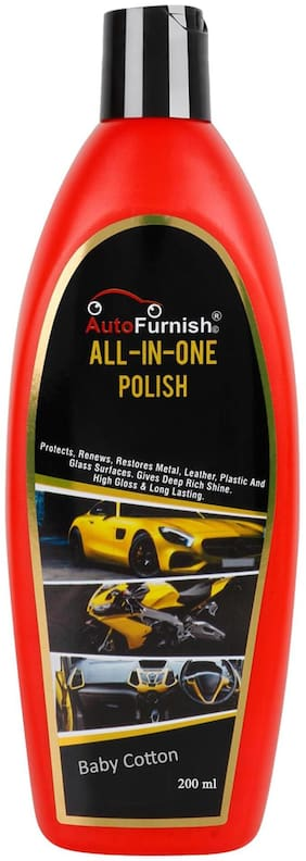 Autofurnish All in One Polish (200ml) - Baby Cotton