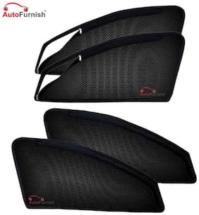 Autofurnish Magnetic Zipper Sun Shades Car Curtains for Maruti Suzuki Ertiga (6 pc.)