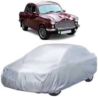 Autofurnish Silver Car Body Cover For Hindustan Motors Ambassador