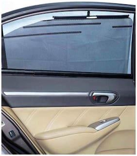 Autofurnish Car Automatic Side Window Sun Shade Set of 4pcs For Micra