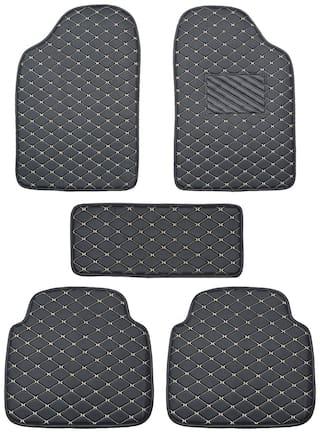 Autofurnish 2D Premium Car Mats For Maruti Suzuki Wagon-R 2019 - Black