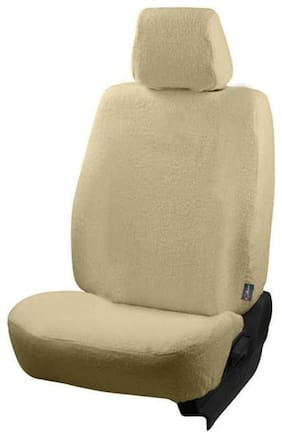 Autofurnish (TW-303) Honda WRV Car Seat Covers Towel (Beige)
