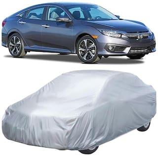 Autofurnish Car Body Cover For Honda Civic - Silver