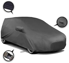 Autofurnish Premium Grey Car Body Cover For Hyundai i10 - Grey