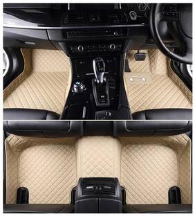 Autofurnish 5D Premium Custom Fitted Car Mats For Maruti Suzuki Alto K10 - Beige