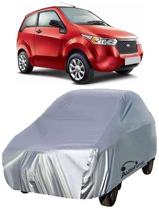 Autofurnish Silver Car Body Cover For Mahindra Reva
