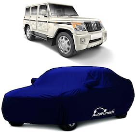 Autofurnish Parker Blue Car Body Cover For Mahindra Bolero