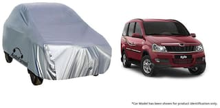 Autofurnish Car Body Cover For Mahindra Xylo - Silver