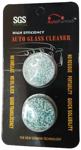 Autofurnish Windshield Glass Washer Cleaner Compact Tablets (Set of 2)