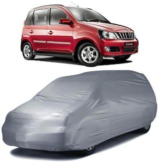 Autofurnish Silver Car Body Cover For Mahindra Quanto