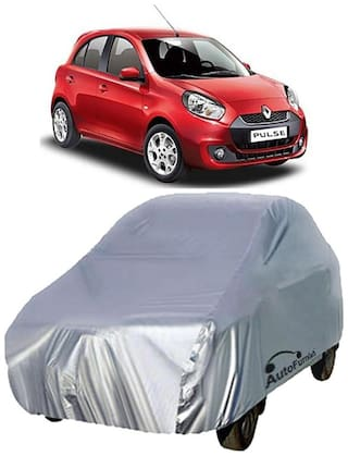 Autofurnish Car Body Cover For Renault Pulse - Silver