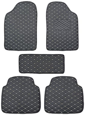 Autofurnish 2D Premium Car Mats For Hyundai i20 Elite - Black