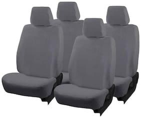 Autofurnish (TW-302)  Towel Car Seat Cover For Maruti Suzuki Zen Estilo (Grey)