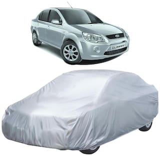 Autofurnish Car Body Cover For Ford Fiesta Classic - Silver
