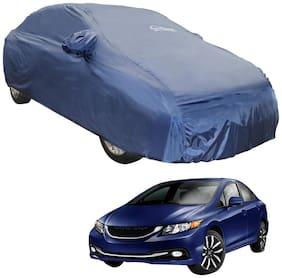 Autofurnish Parker Blue Car Body Cover For Honda Civic (Blue)